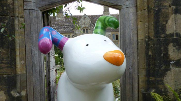 Snowdog Art Trails at Nymans